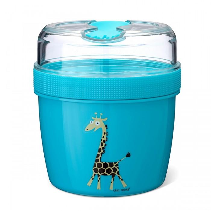 Фото - Контейнеры для еды Carl Oscar Ланч-бокс с охлаждающим элементом Nice Cup Giraffe термокружка carl oscar click n´sip 0 4 л белый