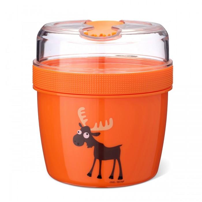 Фото - Контейнеры для еды Carl Oscar Ланч-бокс с охлаждающим элементом Nice Cup Moose термокружка carl oscar click n´sip 0 4 л белый