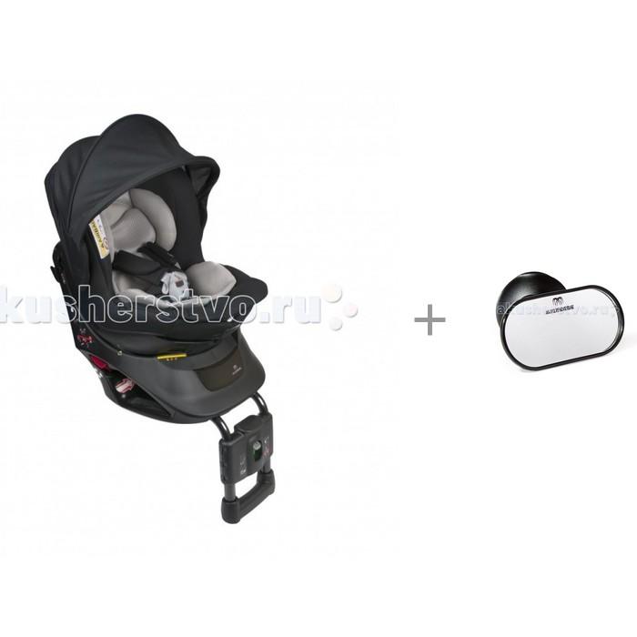 Купить Группа 0-1 (от 0 до 18 кг), Автокресло Carmate Kurutto NT2 Premium с автомобильным зеркалом Ailebebe Monitor Mirror