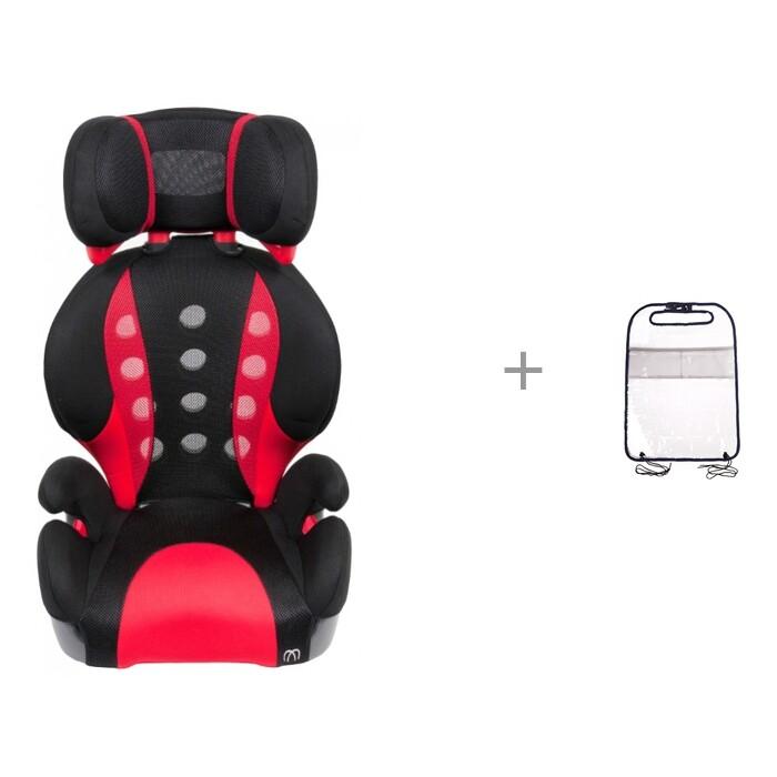 Картинка для Автокресло Carmate Saratto Highback Junior Quattro и ProtectionBaby Защита-органайзер для планшета