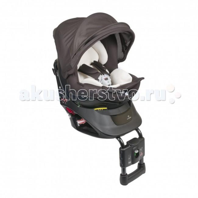 Автокресло Carmate Kurutto NT2 PremiumKurutto NT2 PremiumУникальное детское автокресло Kurutto Premium с поворотной чашей на 360°. Кресло оснащено тепло и влагоотводящим вкладышем для новорожденного, который идеально поддерживает тело ребеночка, равномерно распределяя нагрузку, оставляя при этом абсолютно расслабленными все суставы. Имеет съемный солнцезащитный зонтик, защищающий ребенка, независимо от того, как установлено кресло и с какой стороны светит солнышко.  Безопасность кресла подтверждена результатами многочисленных краш-тестов, проведенных независимой японской национальной компанией экспертов NASVA.   Особенности:  Анатомический вкладыш для новорожденного, тепло и влагоотводящий с эффектом маминой руки, формирует ровное комфортное ложе для младенца, идеально поддерживает тело ребеночка, равномерно распределяет нагрузку, оставляя при этом абсолютно расслабленными все суставы; Съемный солнцезащитный капюшон, защищающий малыша, независимо от того, как установлено кресло и с какой стороны светит солнышко - задерживает 99% UV; Чаша кресла очень просто поворачивается в любую сторону на 360°, что позволяет легко укладывать (усаживать) малыша в кресло; 100% прослойка виброгасящего материала; Конструкция кресла обеспечивает возможность его крепления с любой стороны авто; Дополнительный упор кресла в пол выполнен не в форме трубки, а имеет П-образную форму, обеспечивая тем самым большую площадь опоры, и максимально предотвращает опрокидывание кресла; Подставка для ног не является дополнительной опцией и предусмотрена конструкцией кресла. Она используется для самостоятельно сидящего ребенка, придает ему уверенность, обеспечивает удобное положение; Для обеспечения максимального комфорта ребеночку в дороге, под тканевую обивку внутри кресла помещена подушка Ultra Cushion из специального виброгасящего материала; Регулируемый 3 уровневый наклон - регулировки легкодоступны, выполняются плавно, в том числе и с сидящим в кресле малышом; Удерживающие пятиточечные ремни - сн