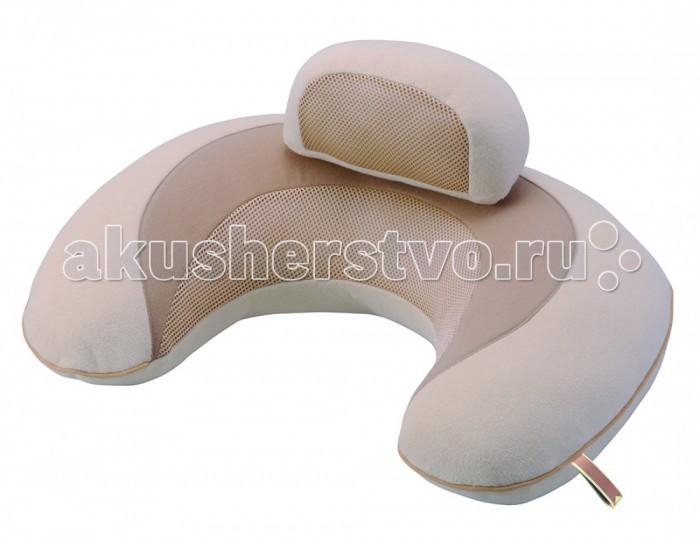 Carmate Подушка поддерживающая 3way Cushion MacaronПодушка поддерживающая 3way Cushion MacaronПодушка поддерживающая для детей, беременных и кормящих мам 3way Cushion Macaron  Подушка изготовлена из мягкого трехслойного материала с применением высококачественных дышащих тканей.  Используется для кормления, поддержки осанки малыша и уменьшения нагрузки на спину мамы. Чехол подушки легко снимается и стирается и не выцветает со временем. Японское качество – проверенное временем.  Размеры подушки: 58х45х26 см<br>