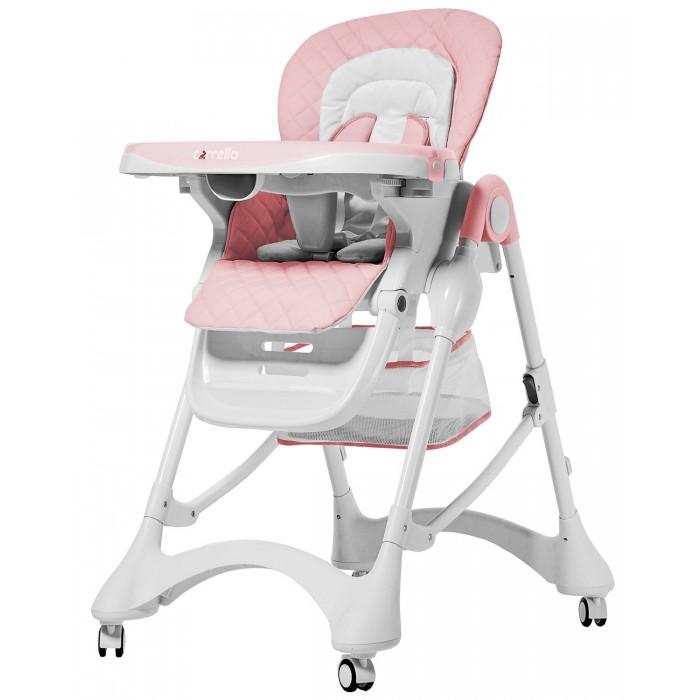 Стульчик для кормления Carrello  CaramelCaramelСтульчик для кормления Carrello Caramel для малышей от 6 месяцев и до 3 лет.   Он станет не только удобным местом для еды, но и зоной для игры и творчества. Стульчик растет вместе с крохой: столик снимается и стул приставляется к общему столу.  Особенности: устойчивая, безопасная конструкция система компактного складывания широкое сиденье с высокой спинкой место посадки мягкое стул с пятиточечными ремнями безопасности от выскальзывания кроху уберегает ограничитель между ножек столик с подносом с подстаканником высота сиденья регулируется 3 положения наклона спинки комплектация мягким вкладышем для малышей съемный чехол из экокожи колесики со стопорами на всех ножках колесики прорезиненные, что уменьшает шум во время передвижения стула по комнате под сиденьем расположена текстильная корзина для игрушек размер (ВxГxШ): 102 x 68 x 60 см размер в сложенном виде (ВxГxШ): 100 x 20 x 60 см<br>