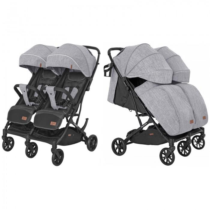 Купить Коляски для двойни и погодок, Carrello Прогулочная коляска для двойни Presto