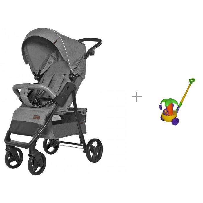 Прогулочные коляски Carrello Quattro и каталка-игрушка Molto Пальма каталки игрушки molto пальма