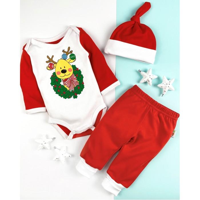 Комплекты детской одежды Carrot Комплект Merry Christmas