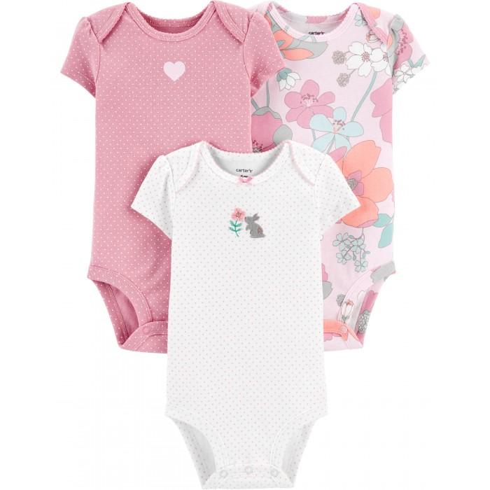 Carter's Комплект для девочки (комбинезон, боди, брюки)