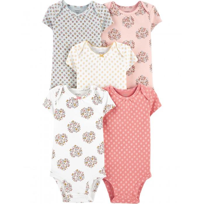 Carter's Комплект для девочки (полукомбинезон, боди, брюки) 1I727910