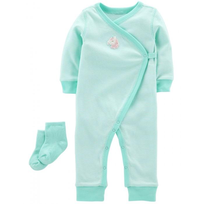 Carters Комбинезон с носками для девочки 126H425