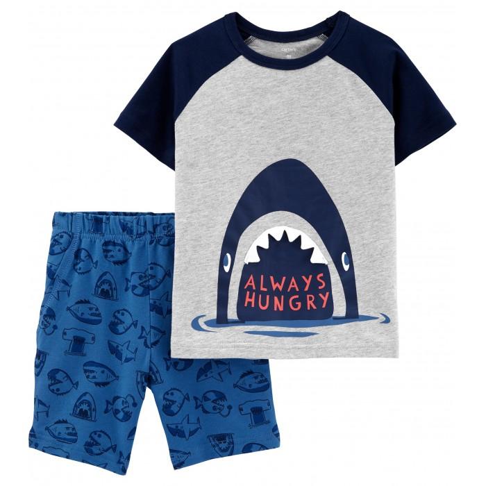 Комплекты детской одежды Carter's Комплект Акула (2 предмета)