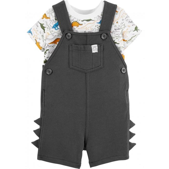 Комплекты детской одежды Carters Комплект Динозавр (2 предмета)