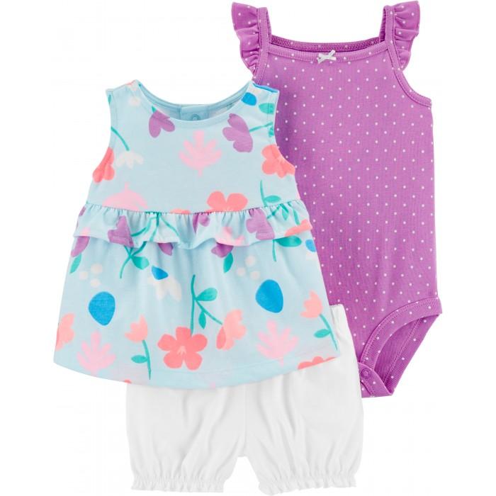 Комплекты детской одежды Carters Комплект для девочки 1H354210