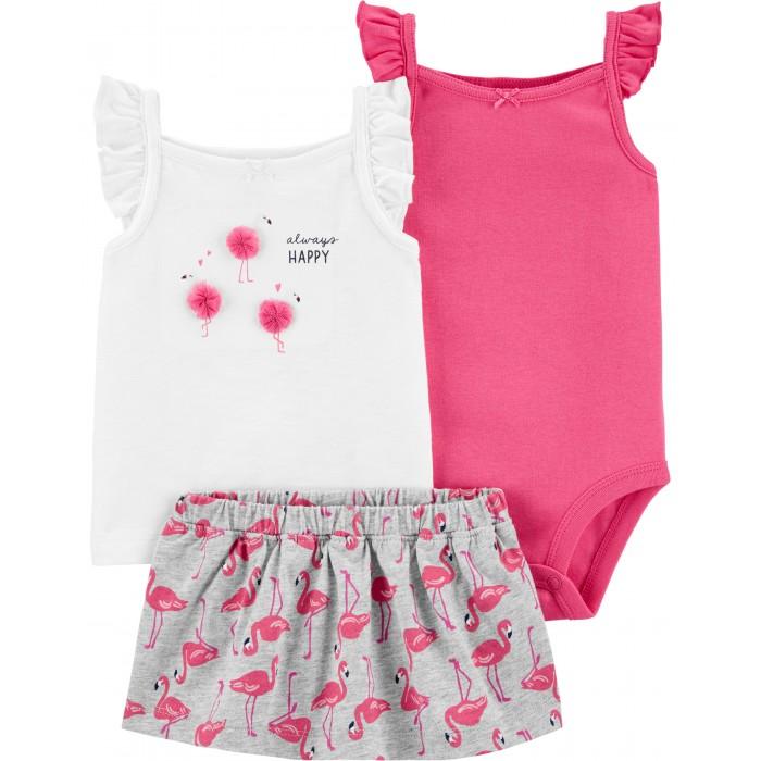 Комплекты детской одежды Carters Комплект для девочки 1H354310