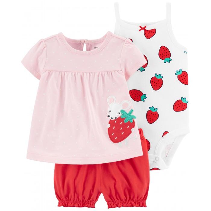 Комплекты детской одежды Carters Комплект для девочки 1H354610