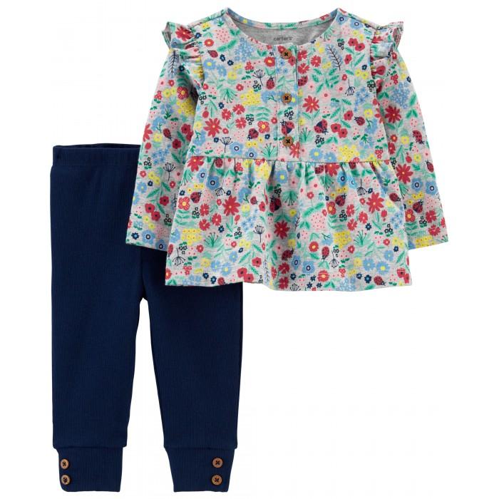 Комплекты детской одежды Carters Комплект для девочки (2 предмета)