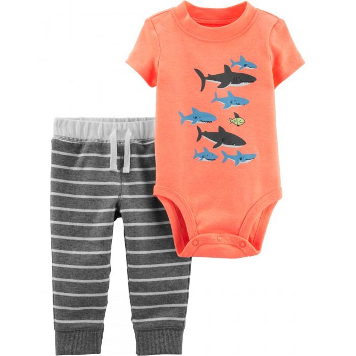 Купить Комплекты детской одежды, Carter's Комплект для мальчика (боди, брюки) 16510410