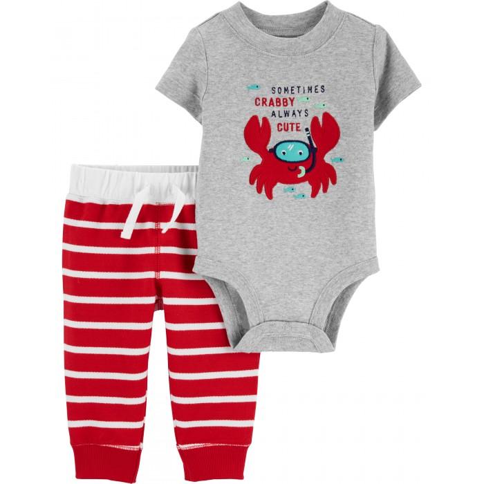 боди и песочники Боди, песочники, комбинезоны Carter's Комплект для мальчика (боди, брюки) 1H446010