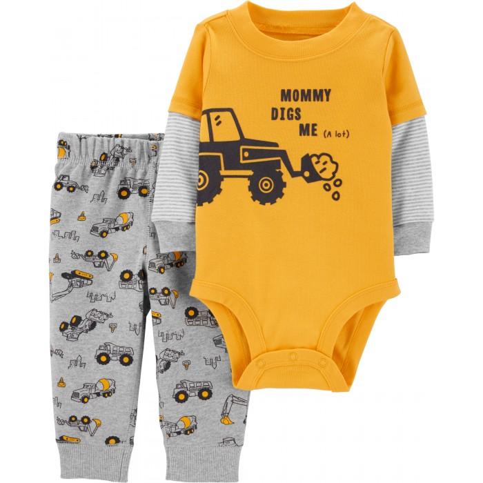 Боди, песочники, комбинезоны Carters Комплект для мальчика (боди, брюки) 1H446310