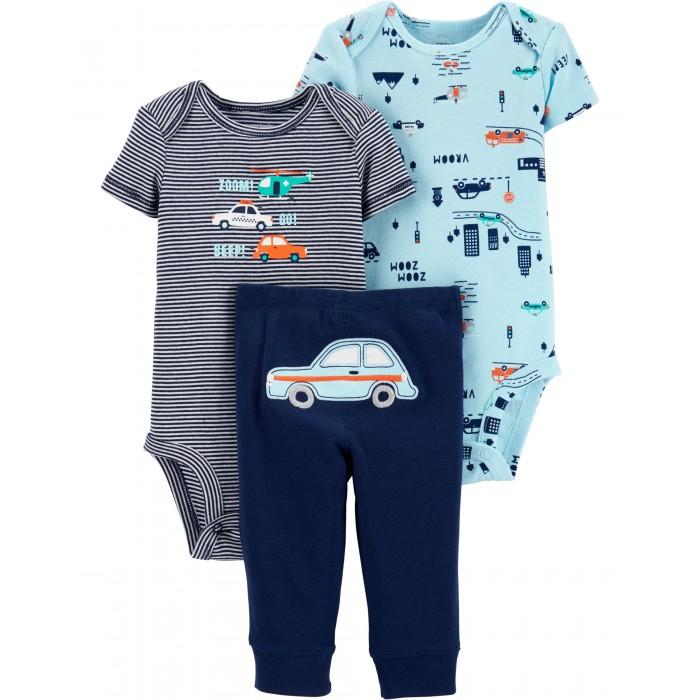 Купить Комплекты детской одежды, Carter's Комплект для мальчика (боди, брюки) 3 предмета 1H364310