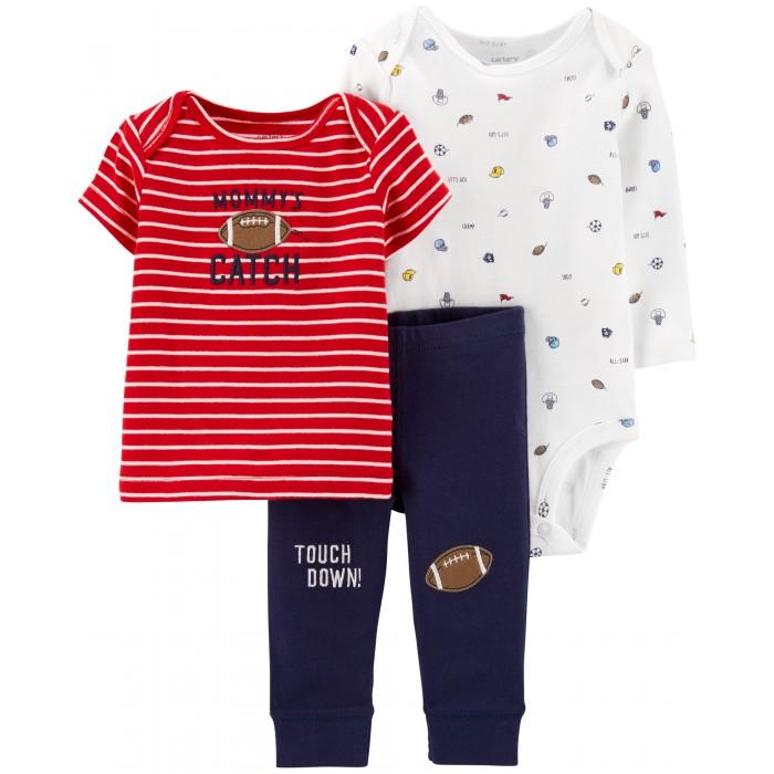 Купить Комплекты детской одежды, Carter's Комплект для мальчика (боди, футболка, брюки) 3 предмета 17644810