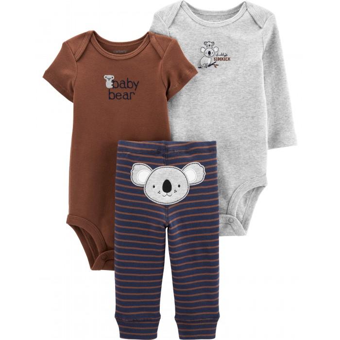 Купить Комплекты детской одежды, Carter's Комплект для мальчика (боди, полукомбинезон, брюки) 3 предмета 17644410