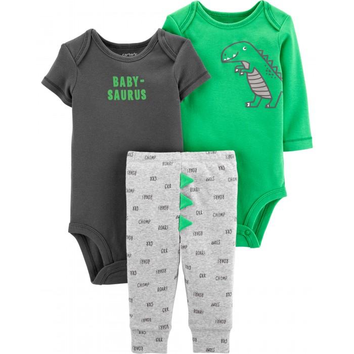Купить Комплекты детской одежды, Carter's Комплект для мальчика (боди, полукомбинезон, брюки) 3 предмета 17645010