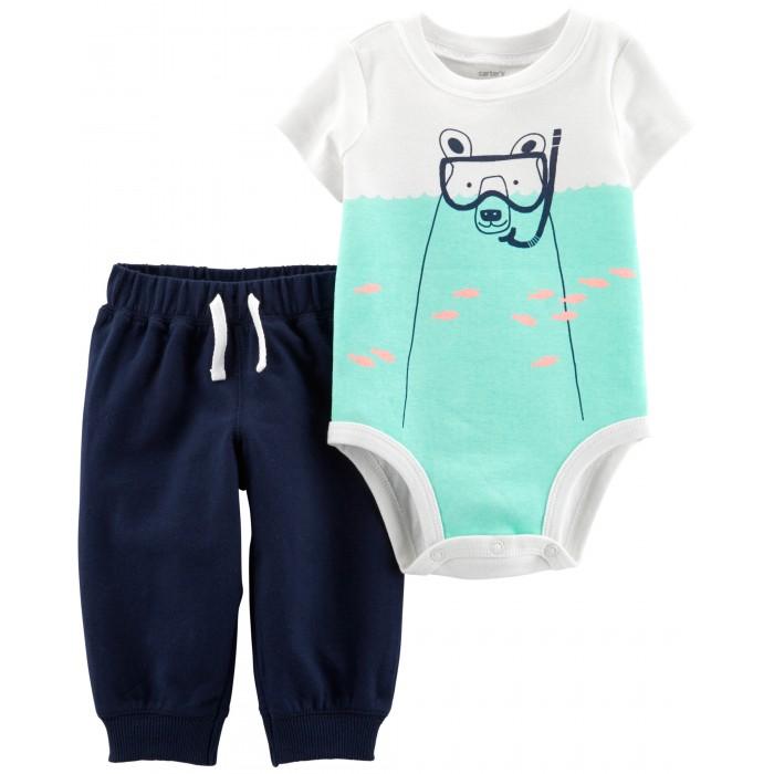 Купить Комплекты детской одежды, Carter's Комплект для мальчика (брюки, боди) 16512010
