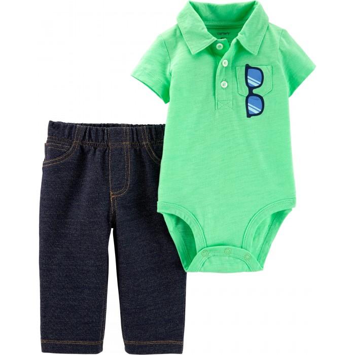 Боди, песочники, комбинезоны Carters Комплект для мальчика (брюки, боди)