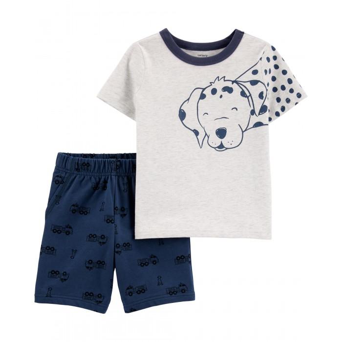 Купить Комплекты детской одежды, Carter's Комплект для мальчика футболка и шорты 2H394810