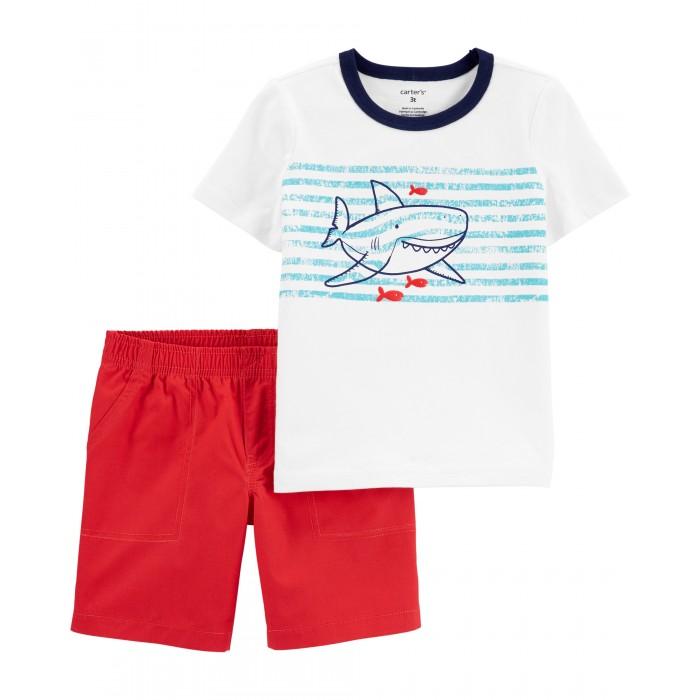 Купить Комплекты детской одежды, Carter's Комплект для мальчика футболка и шорты 2H394910