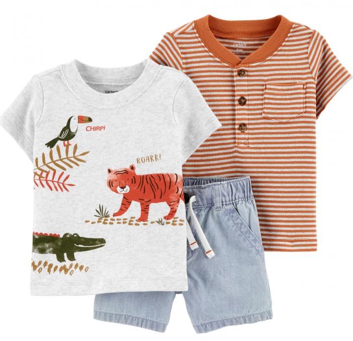 Купить Комплекты детской одежды, Carter's Комплект для мальчика (футболка, шорты) 1H397310