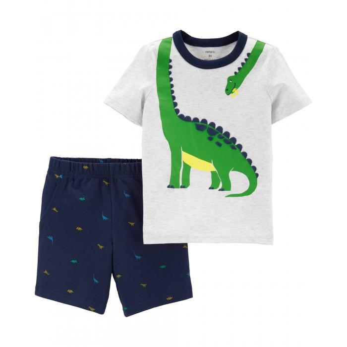 Купить Комплекты детской одежды, Carter's Комплект для мальчика (футболка, шорты) 229G932