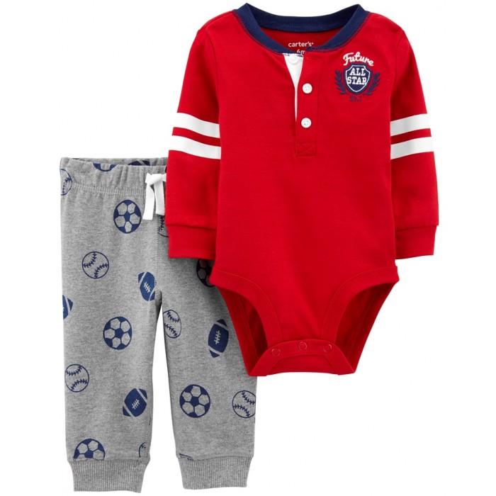 Купить Комплекты детской одежды, Carter's Комплект для мальчика (полукомбинезон и брюки) 1J200310