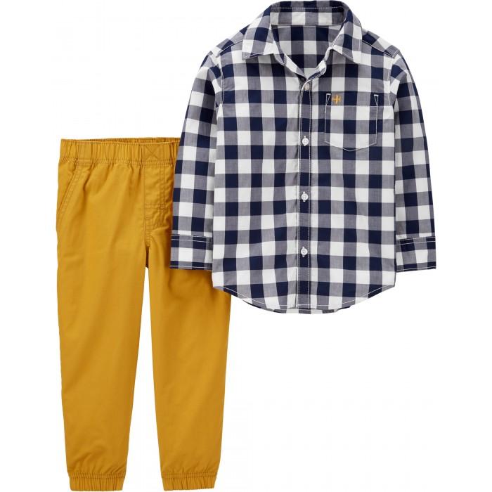 Купить Комплекты детской одежды, Carter's Комплект для мальчика (рубашка, брюки) 2H703410