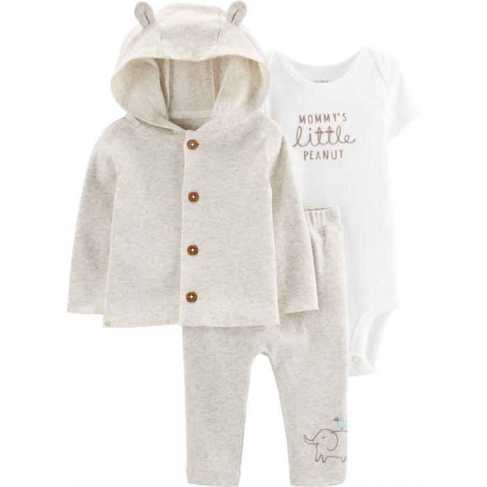 Купить Комплекты детской одежды, Carter's Комплект для мальчика (толстовка, брюки, боди) 17573610
