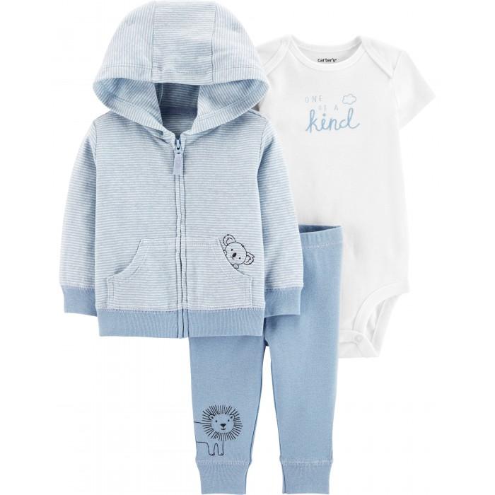 Купить Комплекты детской одежды, Carter's Комплект для мальчика (толстовка, брюки, боди)