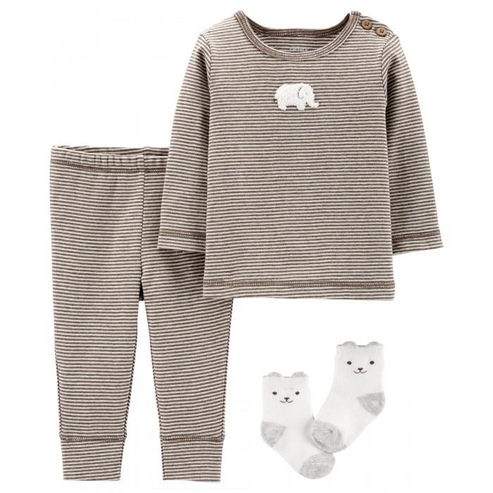 Распашонки и ползунки Carters Комплект (джемпер, брюки, носочки) 3 предмета 17574410 носочки дырочки iltani design