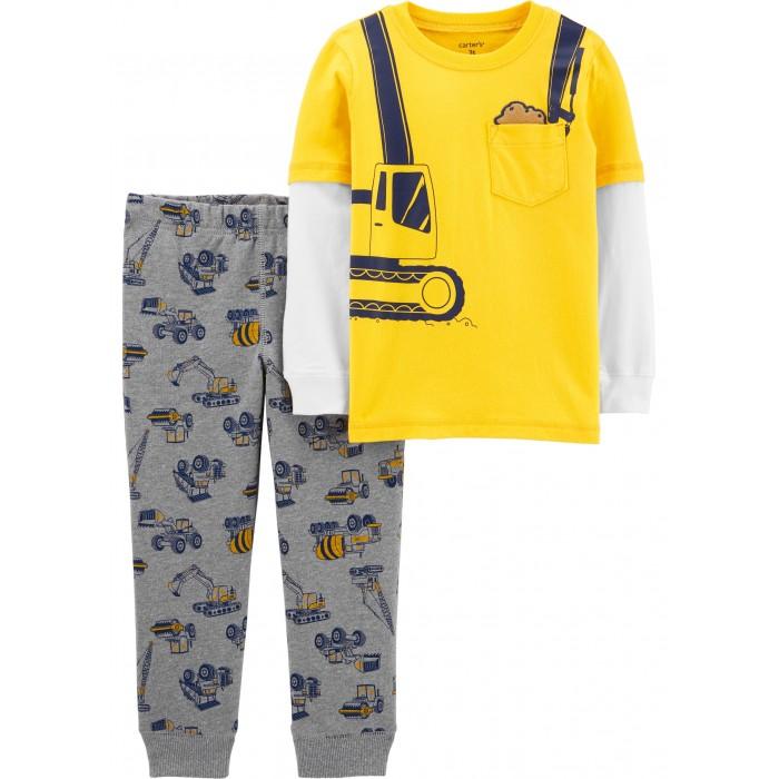 комплекты детской одежды Комплекты детской одежды Carters Комплект Спецтехника (2 предмета)