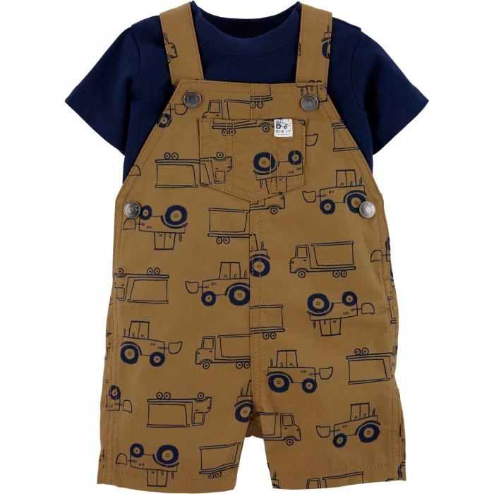 Комплекты детской одежды Carters Комплект Грузовики (2 предмета)