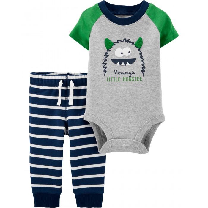 комплекты детской одежды Комплекты детской одежды Carters Комплект Маленький монстрик (2 предмета)