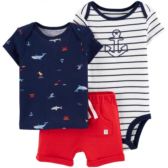 комплекты детской одежды bembi комплект детский 3 предмета кп184 Комплекты детской одежды Carter's Комплект Море (3 предмета)