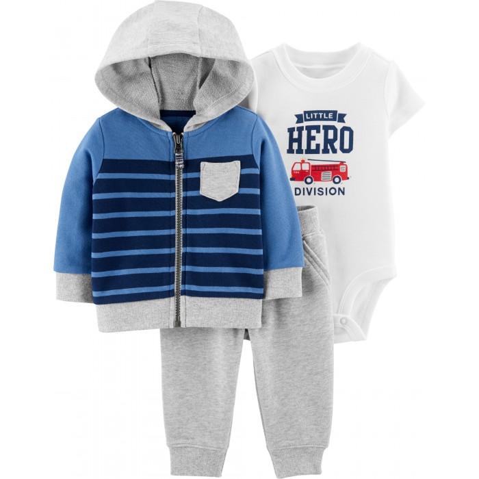 Комплекты детской одежды Carters Комплект Пожарный (3 предмета)