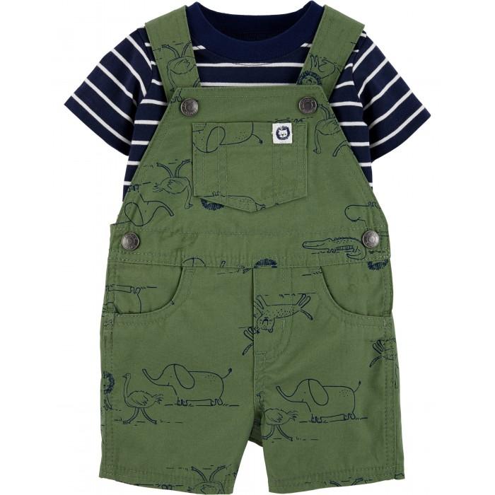 Комплекты детской одежды Carters Комплект Сафари (2 предмета) апрель комплект 2 предмета