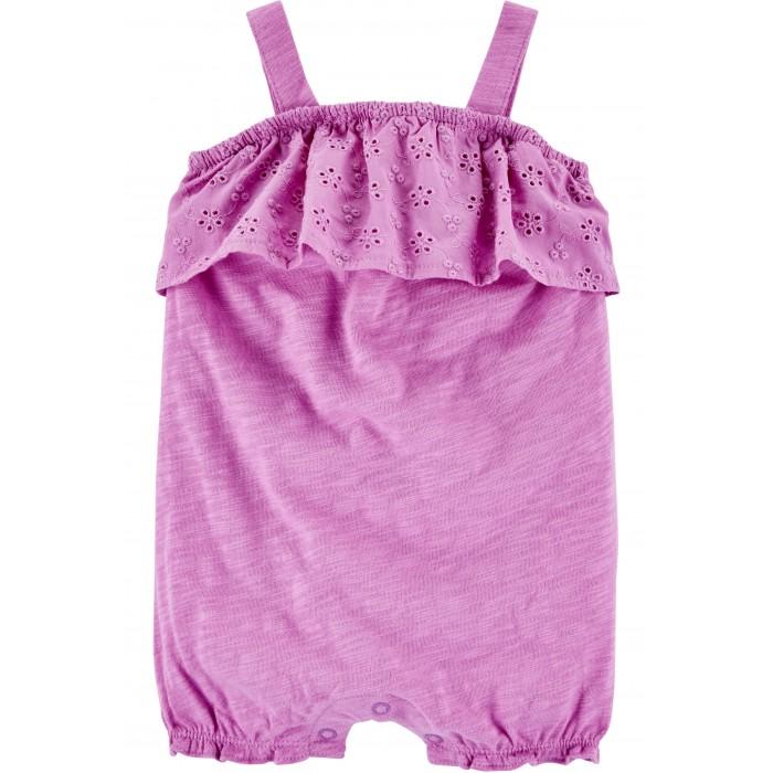Боди, песочники, комбинезоны Carters Песочник для девочки с шитьем