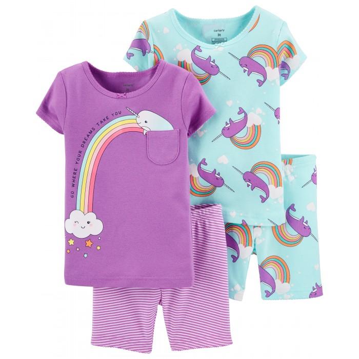 Купить Домашняя одежда, Carter's Пижама для девочки 2 шт. 1H440110