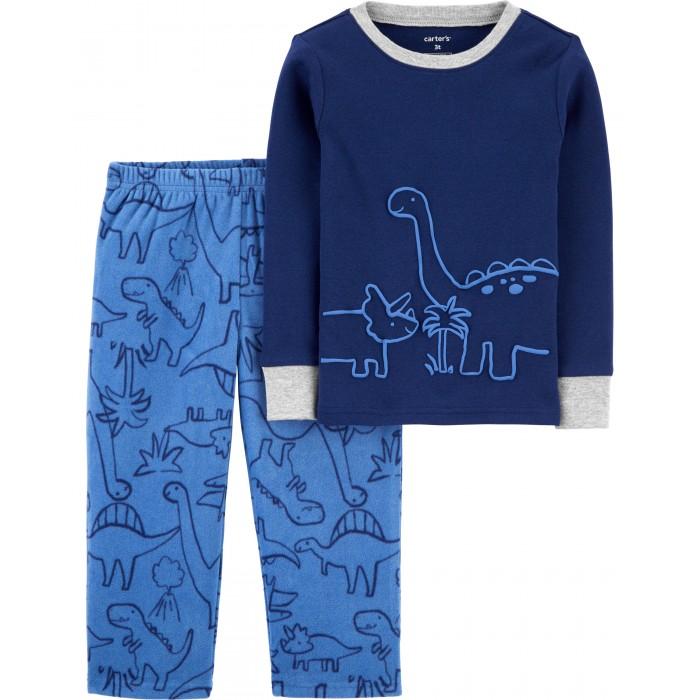 Фото - Домашняя одежда Carter's Пижама для мальчика с динозаврами домашняя одежда mayoral newborn пижама для мальчика 2767