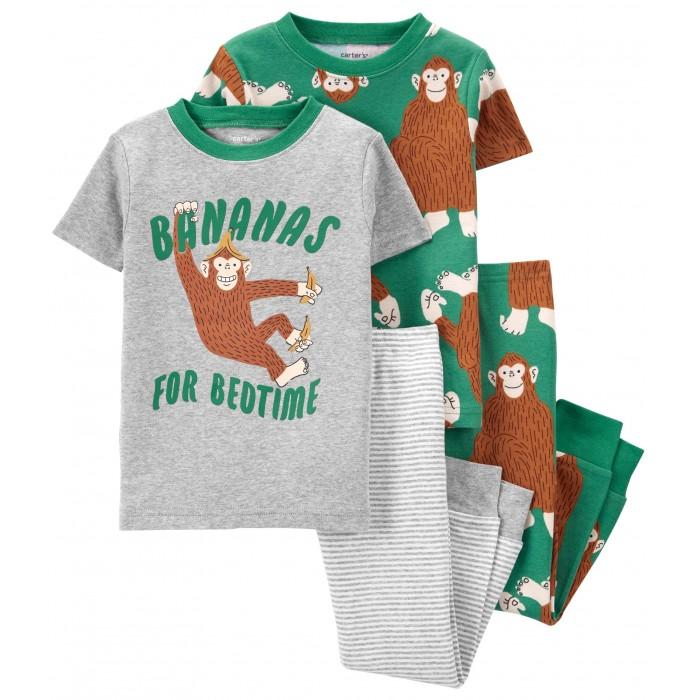 Carter's Пижама с обезьянами для мальчика 2 шт. 1K479711