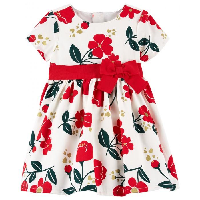 Carters Платье для девочки 120G236