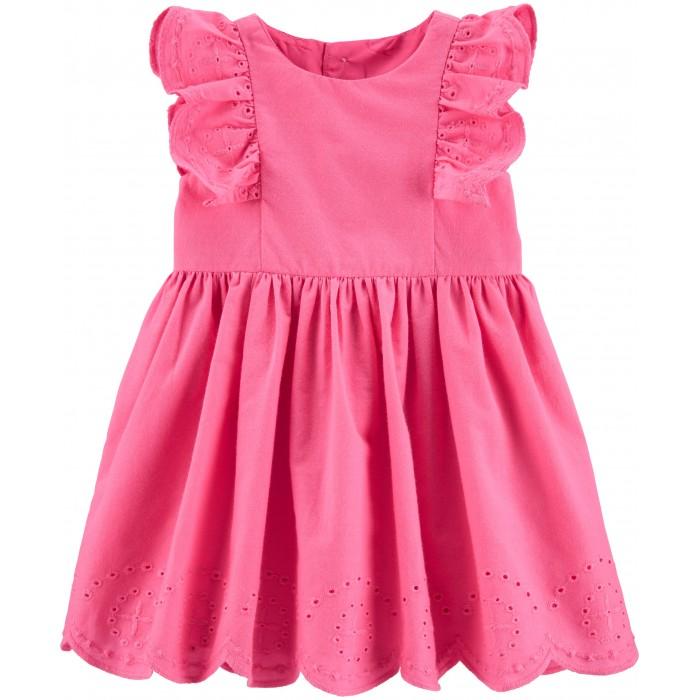 Платья и сарафаны Carters Платье с шитьем
