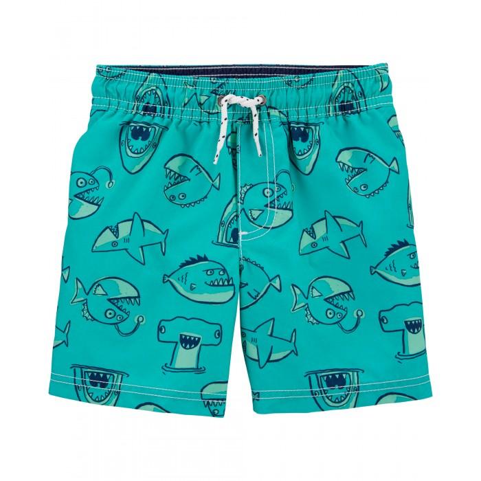 Плавки Carters Шорты купальные для мальчика 2H437110 шорты купальные для мальчика luminoso цвет сине бирюзовый 717065 размер 134